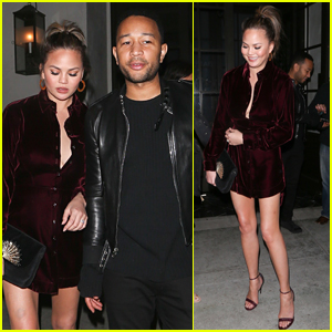 Chrissy Teigen Shows Off Her Killer Legs on Date Night with John Legend