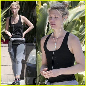 Claire Danes Works Out After 'Homeland' Season 6 Finale