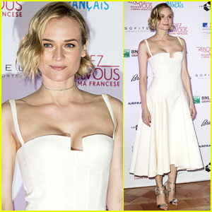 Diane Kruger Arrives in Style for the Opening Ceremony of the French Cinema Festival