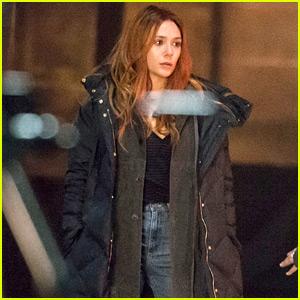 Elizabeth Olsen Films 'Avengers: Infinity War' Alongside Her Stunt Double in Scotland