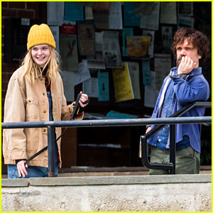 Elle Fanning & Peter Dinklage Film Their Apocalypse Movie 'I Think We're Alone Now'!