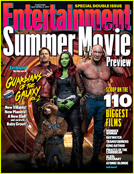 'Guardians of the Galaxy Vol. 2' Takes EW's Summer Movie Preview Cover!