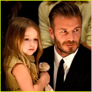 Harper Beckham's Name Gets Brand Protection