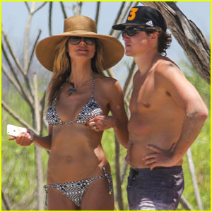 Heidi Klum Ditches Bikini & Goes Topless for Costa Rica Fishing Trip