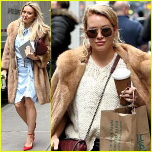 Hilary Duff Speaks About Filming Those 'Awkward' Disney Wand-Waving Promos