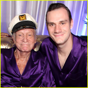 Hugh Hefner's Son Cooper Gives Update on His Dad's Health