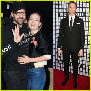 Jason Sudeikis & Olivia Wilde Couple Up at Opening Night of Magic Show in NYC
