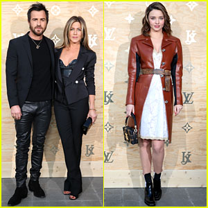 Jennifer Aniston & Justin Theroux Couple Up for Louis Vuitton Dinner in Paris!