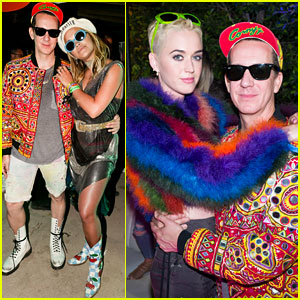Katy Perry & Rita Ora Crush It at Moschino's Coachella Party