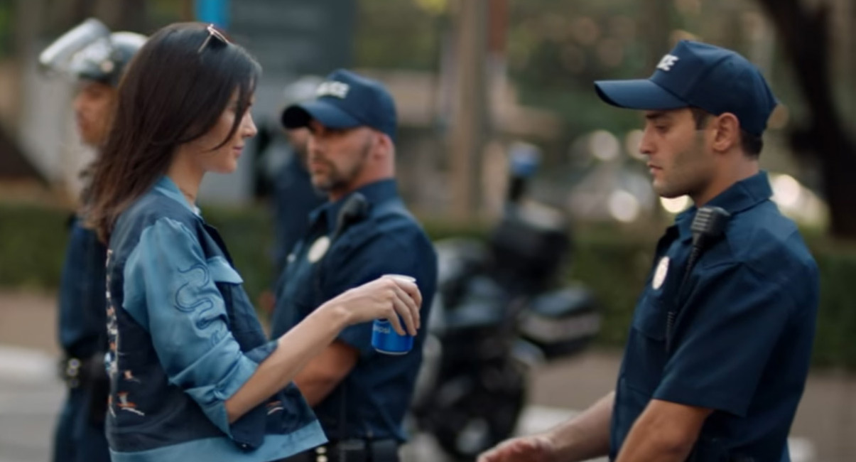 an analysis of the controversial video ad of pepsi Pepsi controversial protest-themed commercial – celebs react celebrities are responding to pepsi's new protest-themed commercial in the new ad that was released earlier today, kendall jenner .