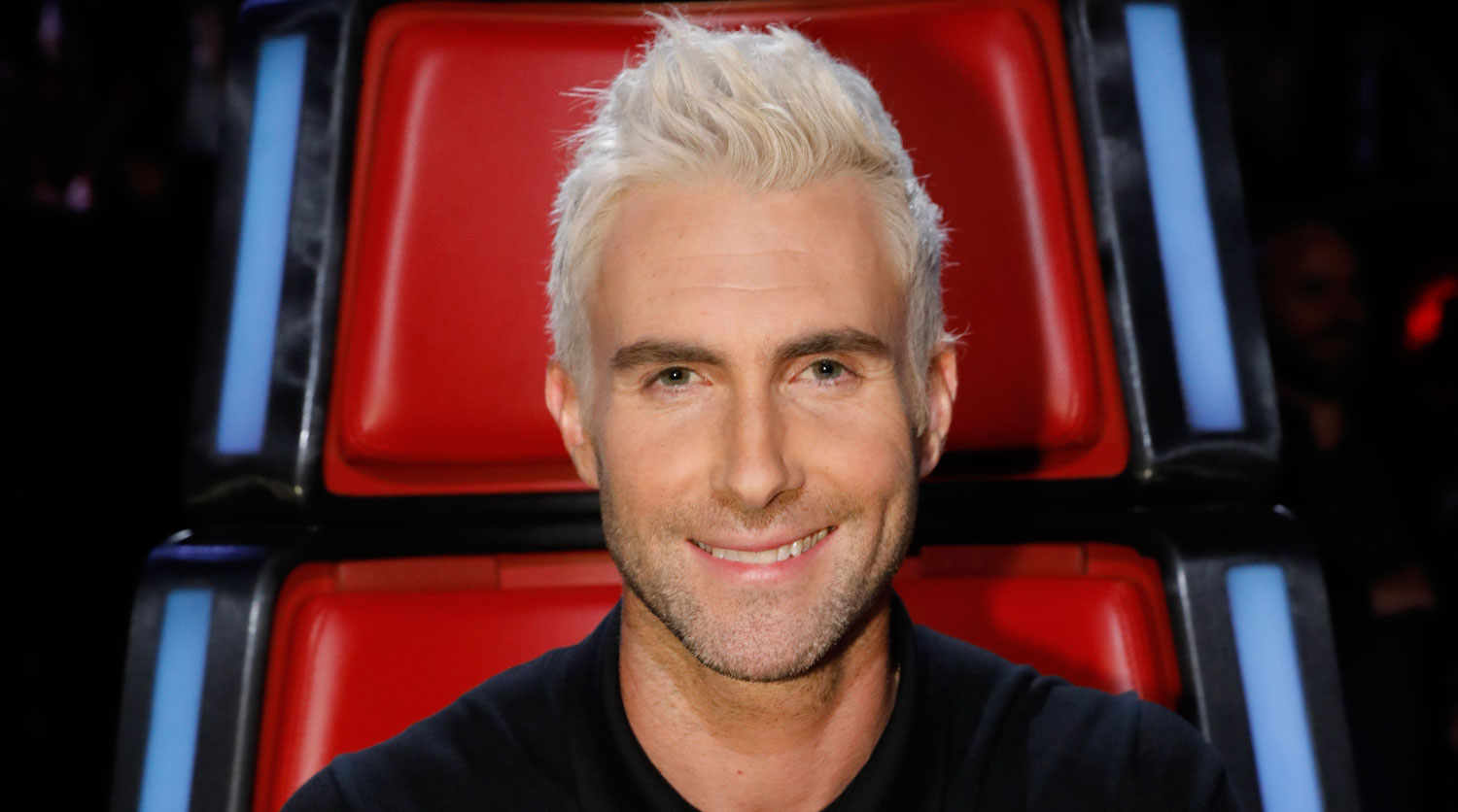 Adam levine says daughter dusty still recognizes him with blond adam levine says daughter dusty still recognizes him with blond hair adam levine just jared urmus