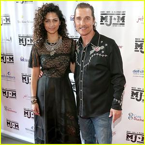 Matthew McConaughey Gets A Little Help From Miranda Lambert At MJ&M Gala Benefit!
