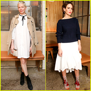 Sarah Paulson & Michelle Williams Celebrate Ulla Johnson's First Boutique Opening!