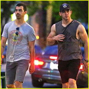 Nick & Joe Jonas Bring the Guns, Where's the Roses?