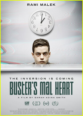 Rami Malek's New Movie 'Buster's Mal Heart' Gets Trailer!