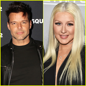 Ricky Martin & Christina Aguilera Virtually Reunite For 'Nobody Wants To Be Lonely' Las Vegas Residency Show!
