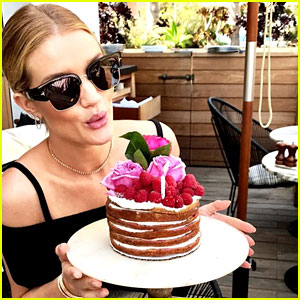 Pregnant Rosie Huntington-Whiteley Shares Photos from Her 30th Birthday Party!