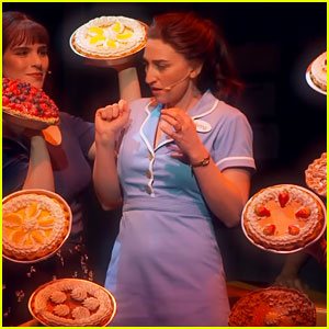 Sara Bareilles Sings 'Bad Idea' in First 'Waitress' Broadway Footage - Watch Now!