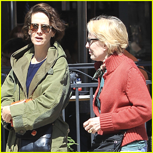 Sarah Paulson & Holland Taylor Spend the Day in L.A.