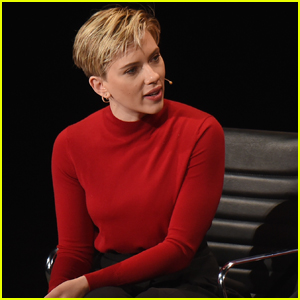 Scarlett Johansson Talks Powerful Women at Women In The World Summit