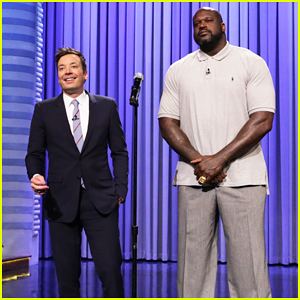 Shaquille O'Neal & Jimmy Fallon Have Epic Lip Sync Battle On 'The Tonight Show' - Watch Here!