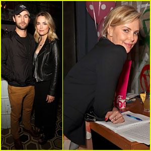 Charlize Theron, Chace Crawford, & More Stars Support a Great Cause at Shelter For All Event