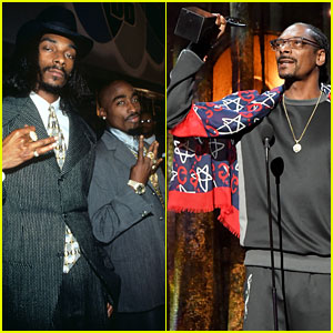 Snoop Dogg Inducts Tupac Into Rock & Roll Hall of Fame With Emotional Tribute (Video)