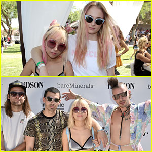 Sophie Turner Enjoys Girl Time with Joe Jonas' Bandmate JinJoo Lee at Coachella!