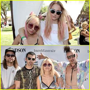 Sophie Turner Enjoys Girl Time with Joe Jonas' Bandmate JinJoo Lee at Coachella!