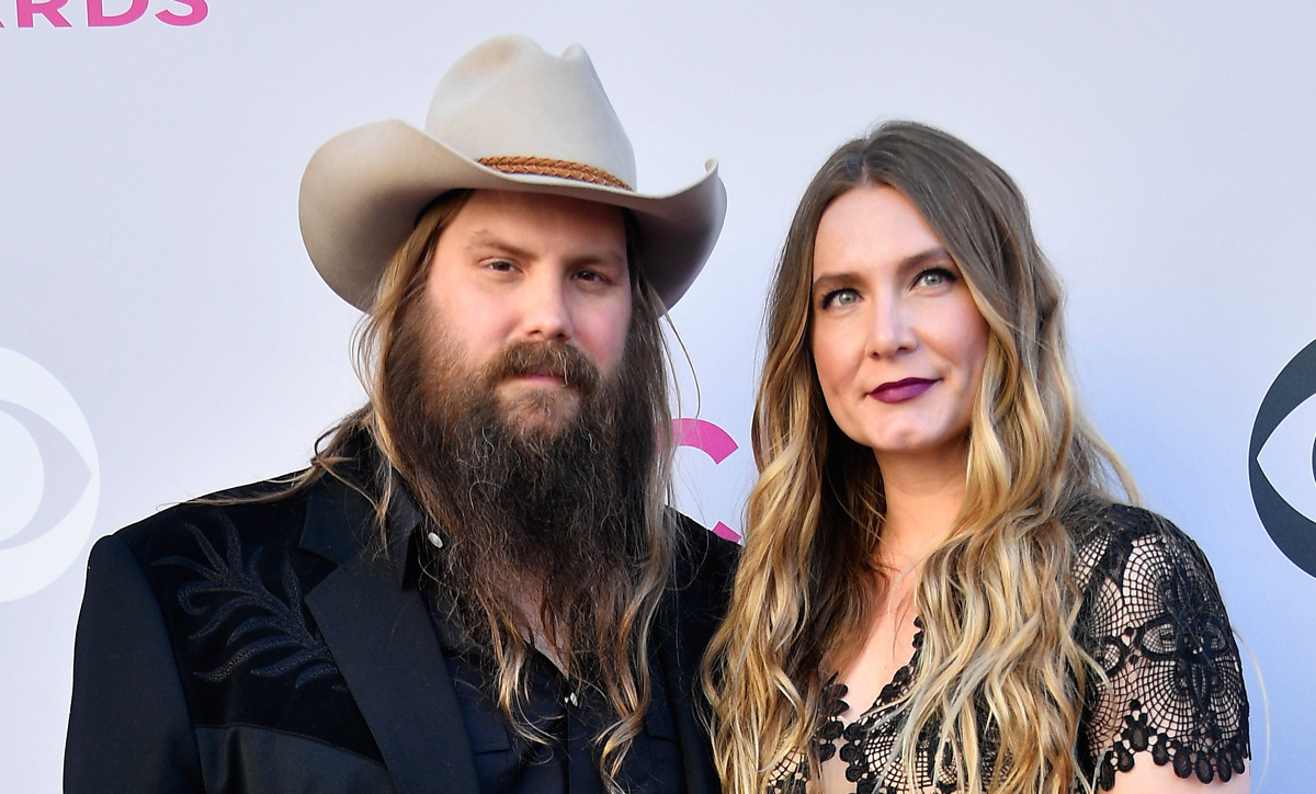 Chris stapleton brings wife morgane to acm awards 2017 for Songs chris stapleton wrote for others