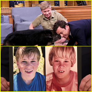 Steve Irwin's Son Robert Makes His Return To 'The Tonight Show' - Watch Here!