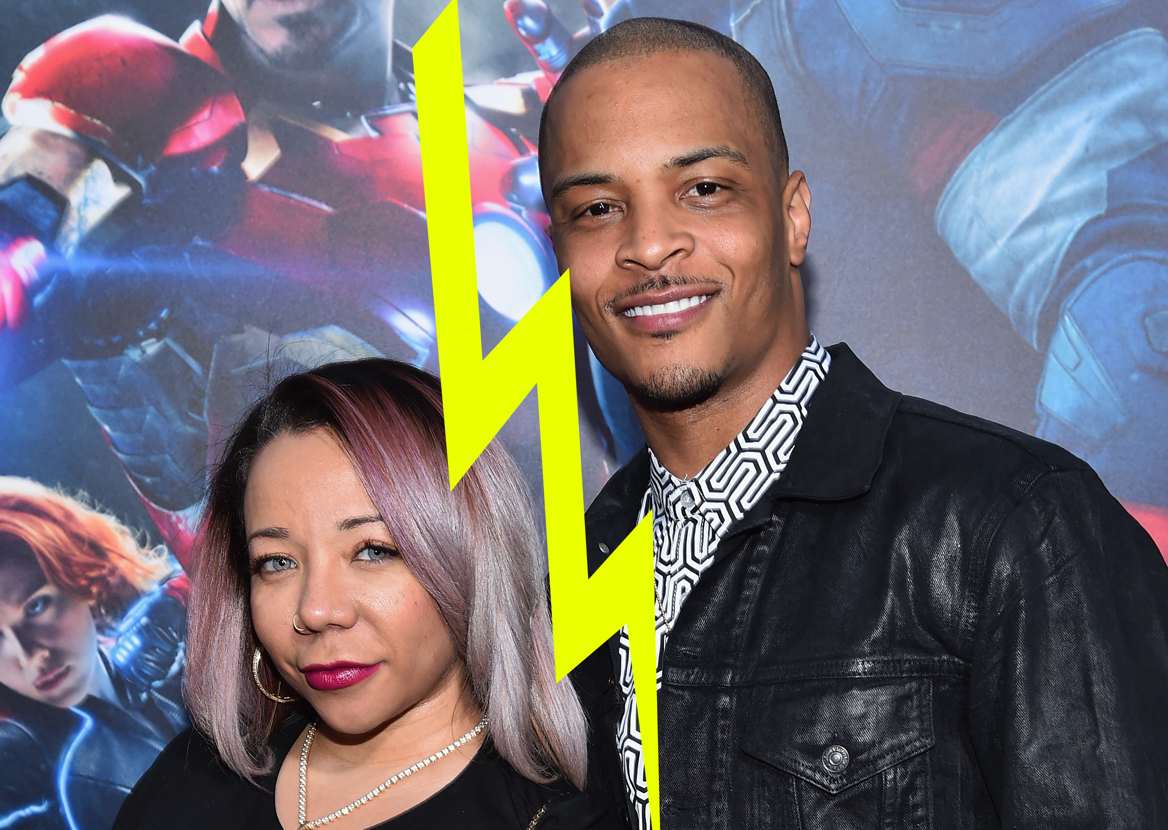 TIs Wife Tiny Harris Files for Divorce Again
