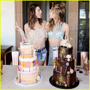 Alessandra Ambrosio & Josephine Skriver Celebrate Birthdays at Victoria's Secret Angels Coachella Oasis