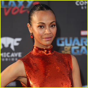 Zoe Saldana's Kids Think She Knows the Hulk: 'They're Eating Their Veggies'