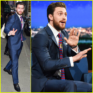 Aaron Taylor-Johnson Bulked Up For 'The Wall' With Help From In-N-Out!