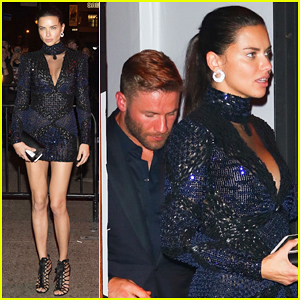 Adriana Lima & Ex Julian Edelman Reunite At Met Gala After Party 2017!