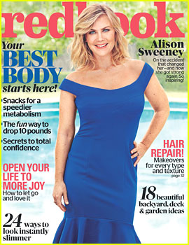 Days of Our Lives' Alison Sweeney Covers 'Redbook' June 2017
