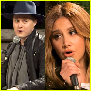 Ashley Tisdale Reunites With 'High School Musical' Co-Star Lucas Grabeel For Duet - Watch Now!