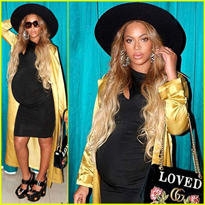 Beyonce's Goes Glam for New Photo Shoot in Form Fitting Dress!