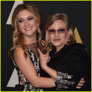 Billie Lourd Pays Tribute to Mom Carrie Fisher on 'Star Wars' Day