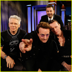 Bono Talks Manchester Arena Bombing & Blasts Donald Trump On 'Jimmy Kimmel Live' - Watch Here!