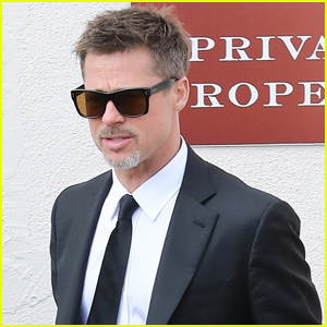 Brad Pitt Steps Out For Lunch After Attending Chris Cornell's Funeral