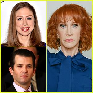Chelsea Clinton & Donald Trump Jr. Slam Kathy Griffin's Bloody Trump Head Photo