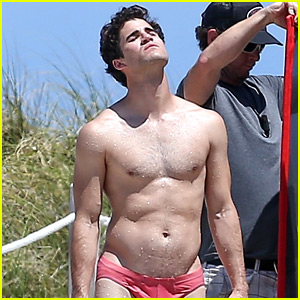 Darren Criss Leaves Nothing to the Imagination in a Speedo!