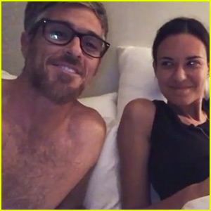 Dave Annable Calls Out Wife Odette for Not Having Sex (Video)