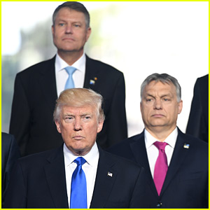 Donald Trump Appears to Shove Prime Minister Dusko Markovic at NATO Meeting (Video)