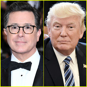Donald Trump Slams at Stephen Colbert: He's a 'No-Talent Guy'