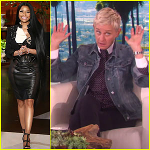 Ellen DeGeneres Has Hilarious Response When Nicki Minaj Says 'I Hate Men'