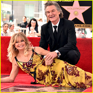 Kurt Russell And Goldie Hawn Get Stars On Walk Of Fame Imdb V20