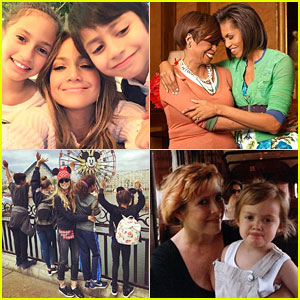 Here's How Your Favorite Celebs Celebrated Mother's Day!